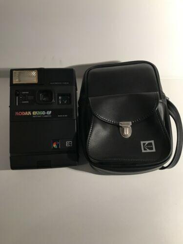 Vintage Kodak EK160-EF, Polaroid Style Vintage Camera with case
